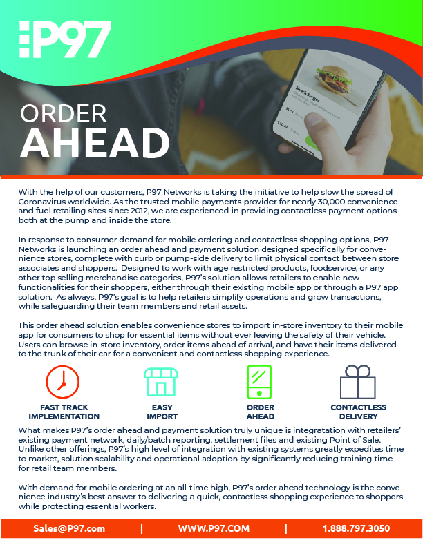 Order Ahead One Pager-01