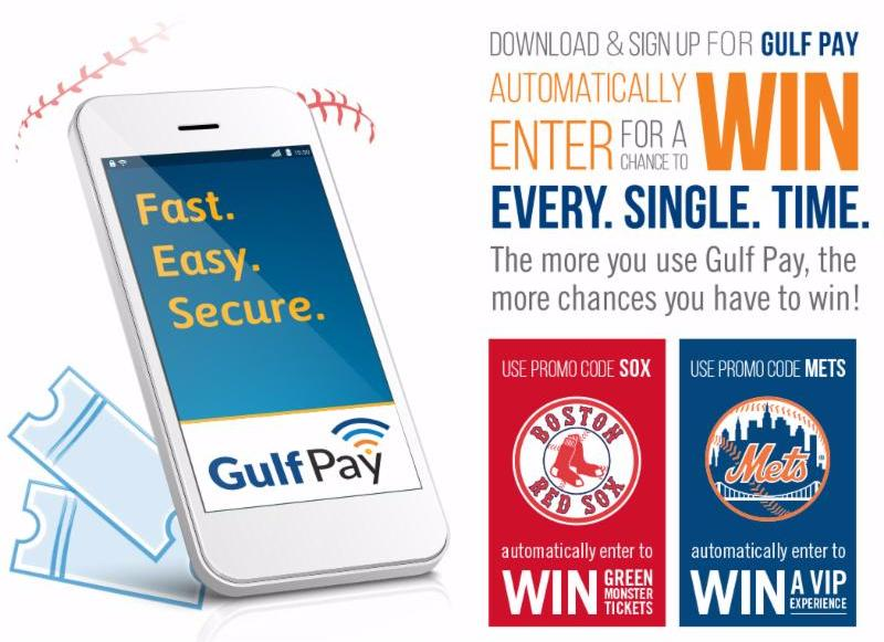 Gulf Pay Sweepstakes Launches with MLB Teams